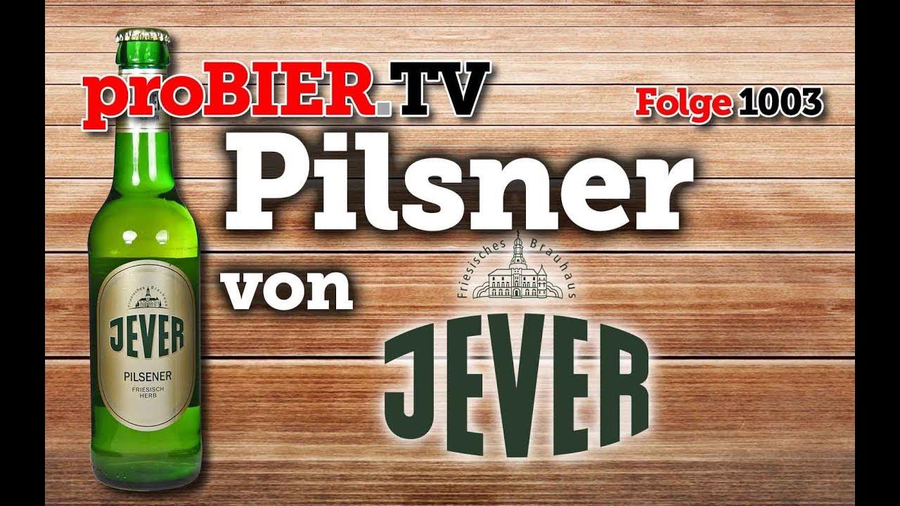 Pilsner von Jever   proBIER.TV – Craft Beer Review #1003 [4K]