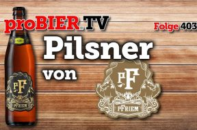 Pilsner von pFriem Family Brewers, Hood River, OR