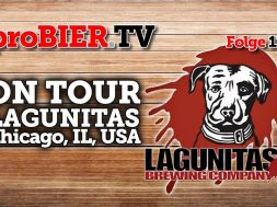 proBIER! on Tour bei Lagunitas Brewery, Chicago
