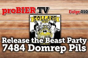 proBIER.TV bei der 7484 Domrep Pils Release Party