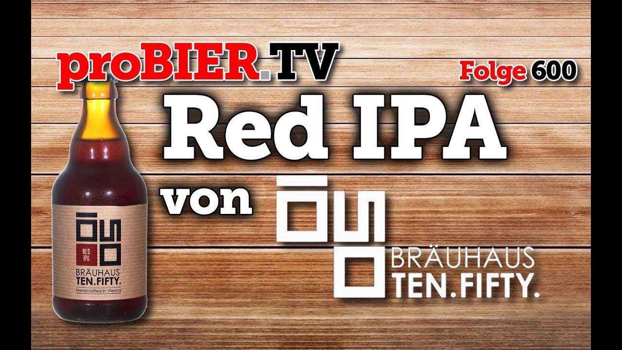 Red IPA von 1050 Bräuhaus   proBIER.TV – Craft Beer Review #600 [4K]