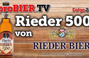 Rieder 500 – Ein innviertlerisches Bayerisch Märzen