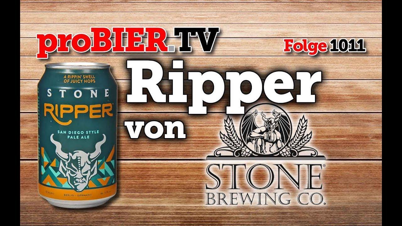Ripper von Stone Brewing Berlin | proBIER.TV – Craft Beer Review #1011 [4K]