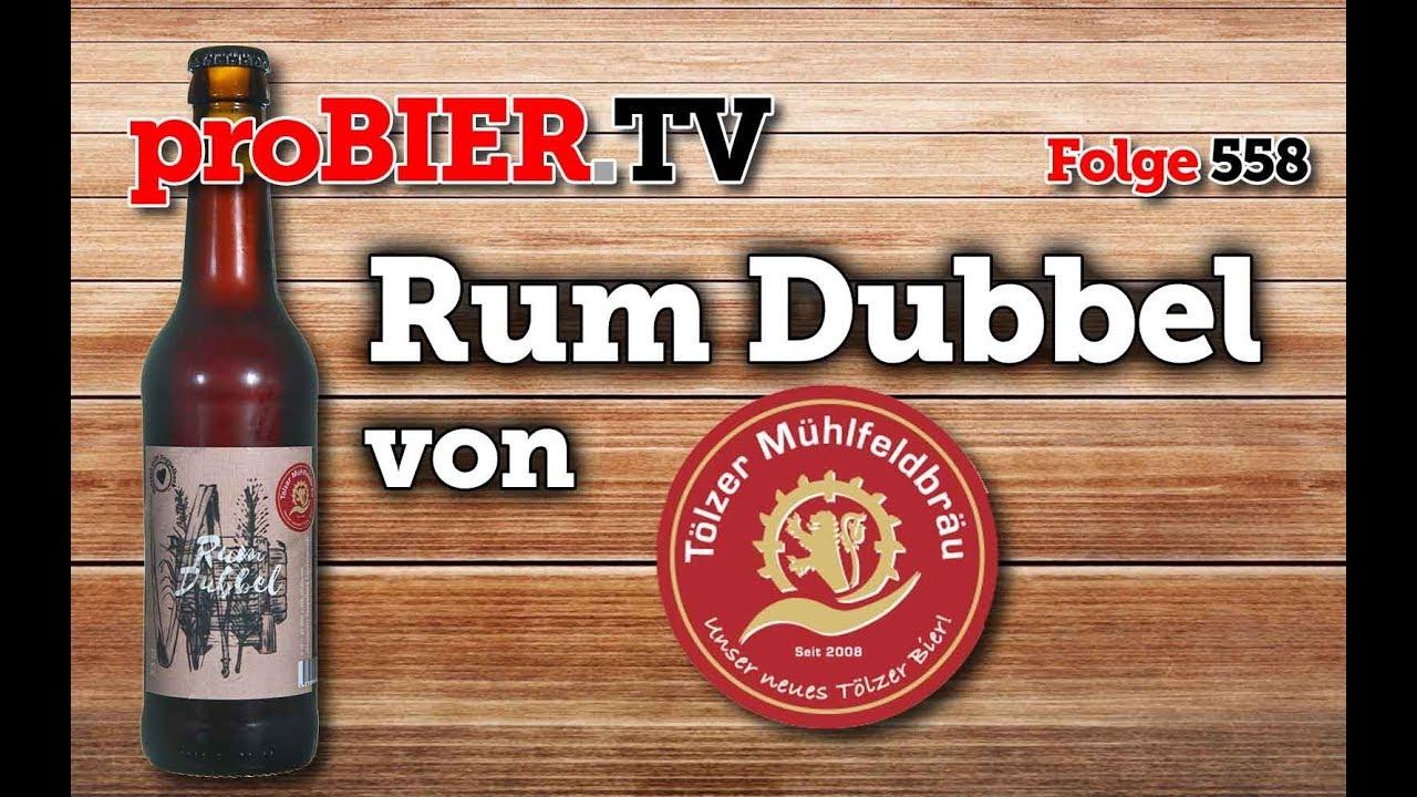 Rum Dubbel – Tölzer Mühlfeldbräu Holzfass die Zweite