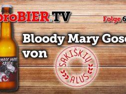 Sakiškių alus bringt die Bloody Mary Gose