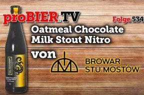 Salamander Oatmeal Chocolate Milk Stout Nitro von Browar Stu Mostow