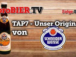 Schneider Weisse TAP7 – Das Weisse-Bier mit Partei
