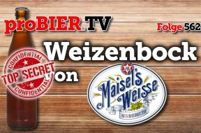 Secret Preview: Weizenbock von Maisel Weisse