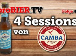 Session Pale Ale – 4 Sessions Camba Bavaria