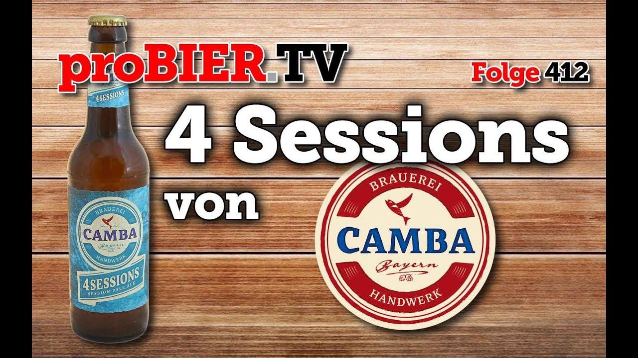 Session Pale Ale – 4 Sessions Camba Bavaria