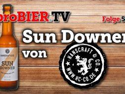 Sun Downer, das Hanscraft NEIPA
