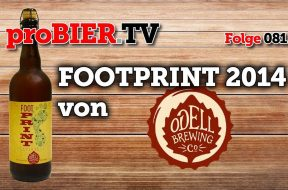 Superbowl Footprint aus 2014 – RegionAle von Odell Brewing
