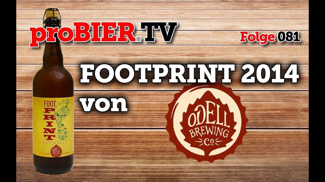 Superbowl Footprint aus 2014 – RegionAle von Odell Brewing