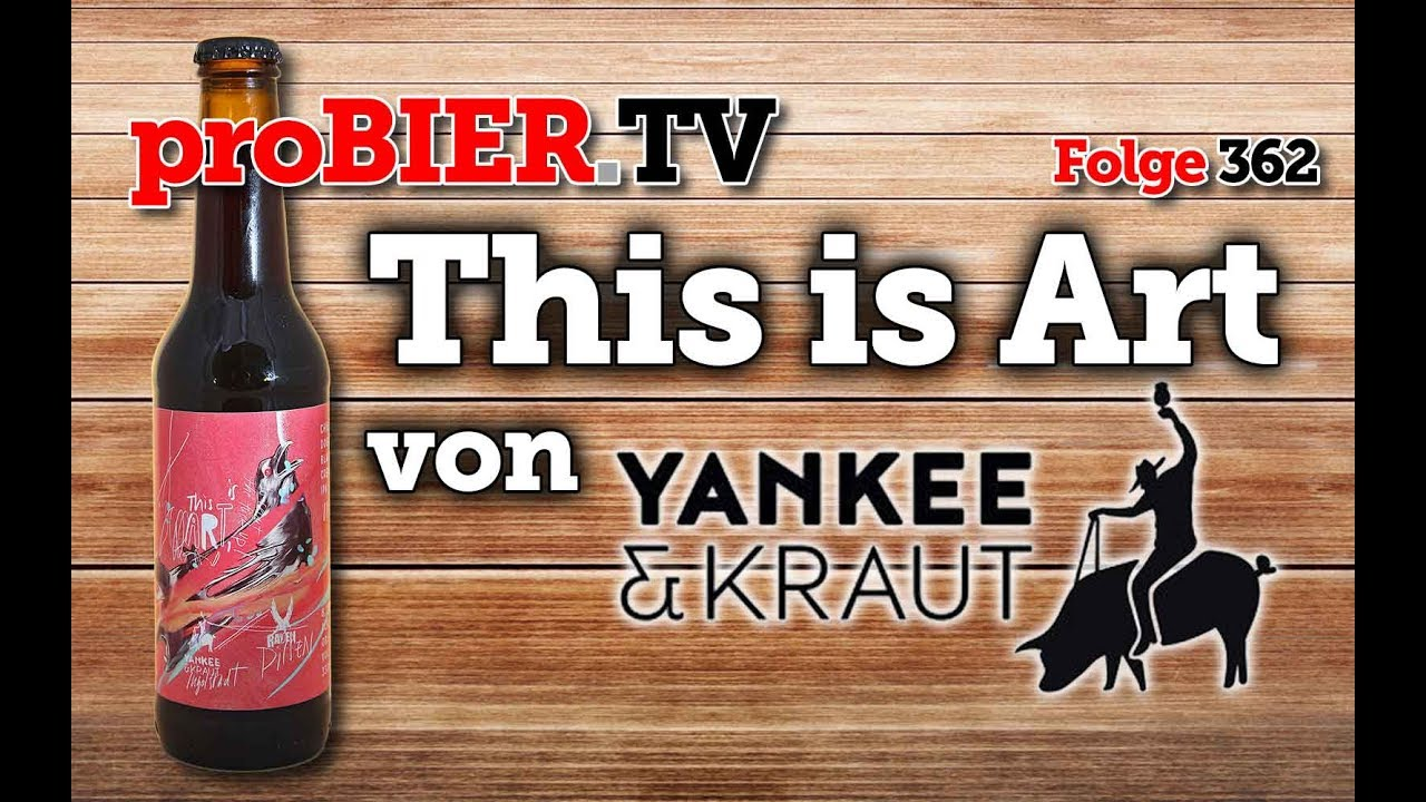 This is Art – Collab Yankee&Kraut / Pivovar Raven