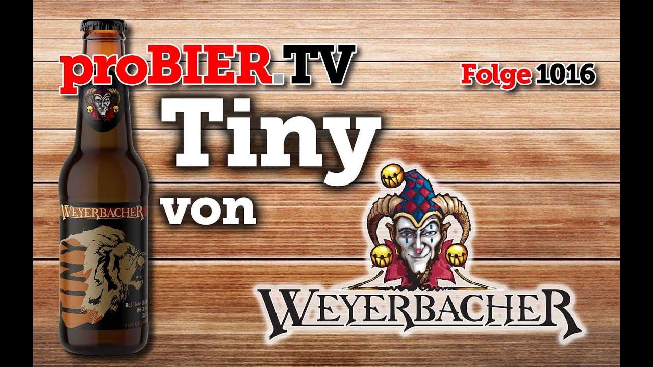 Tiny von Weyerbacher | proBIER.TV – Craft Beer Review #1016 [4K]