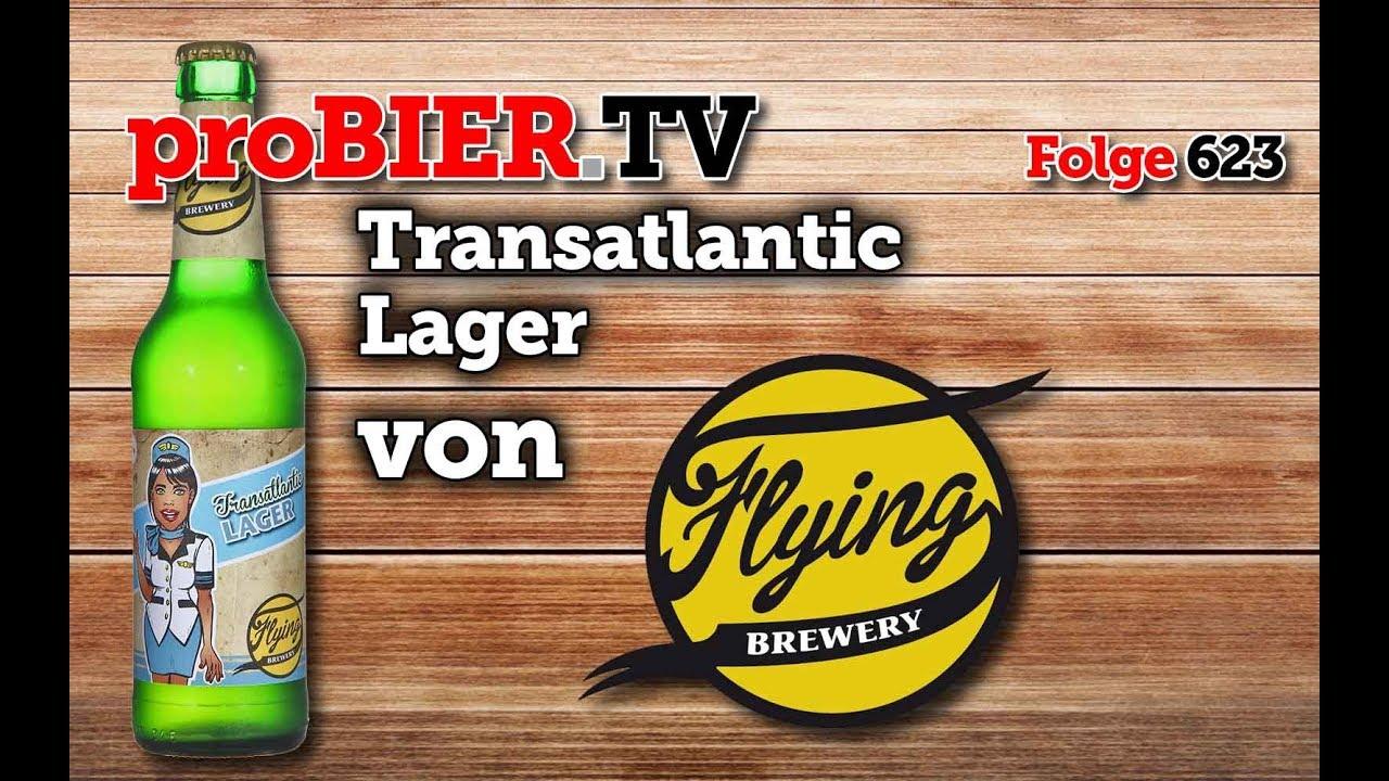 Transatlantic Lager von der Flying Brewery