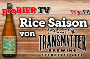 Transmitter Brewing New York – S8 Rice Saison