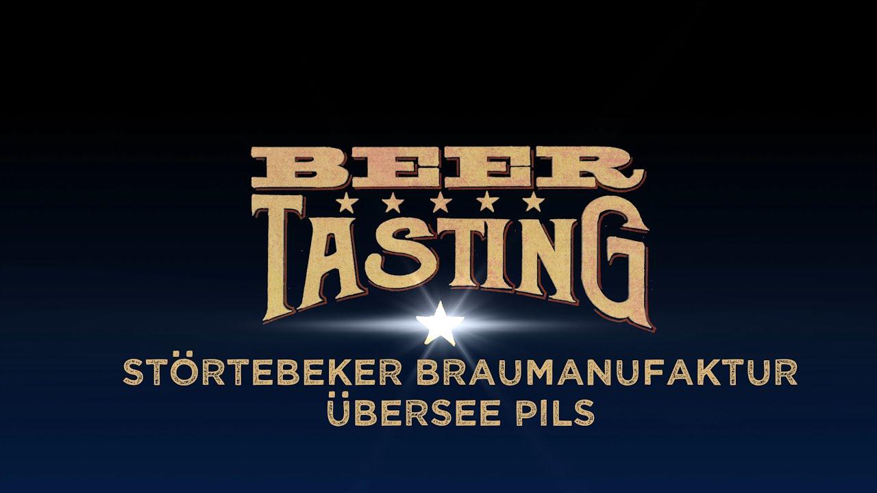 Übersee Pils von Störtebeker Braumanufaktur | proBIER.TV – Craft Beer Review #1052 [4K]