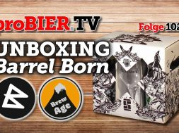 UNBOXING Barrel Born Box | proBIER.TV – Craft Beer Review #1021 [4K]