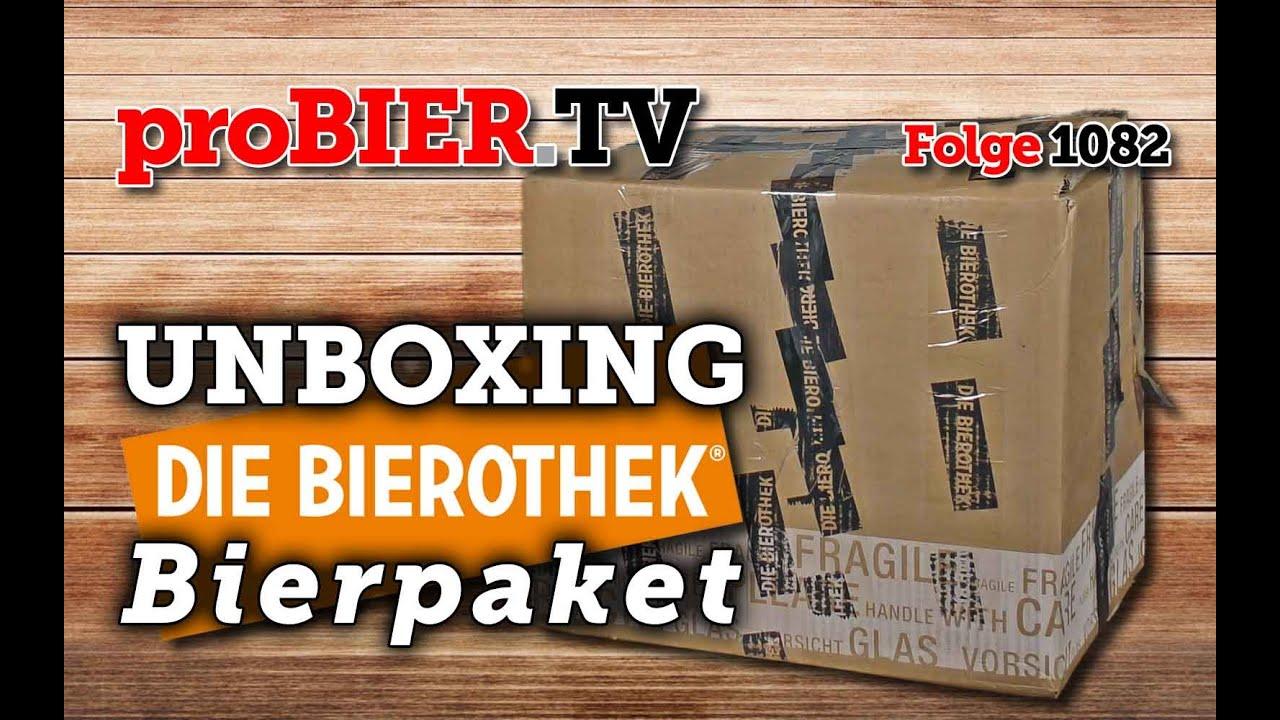UNBOXING – Bierothek Bierpaket | proBIER.TV – Craft Beer Video #1082 [4K]
