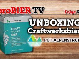 UNBOXING Craftwerksbier von MeinAlpenstrom | proBIER.TV – Craft Beer Review #614 [4K]