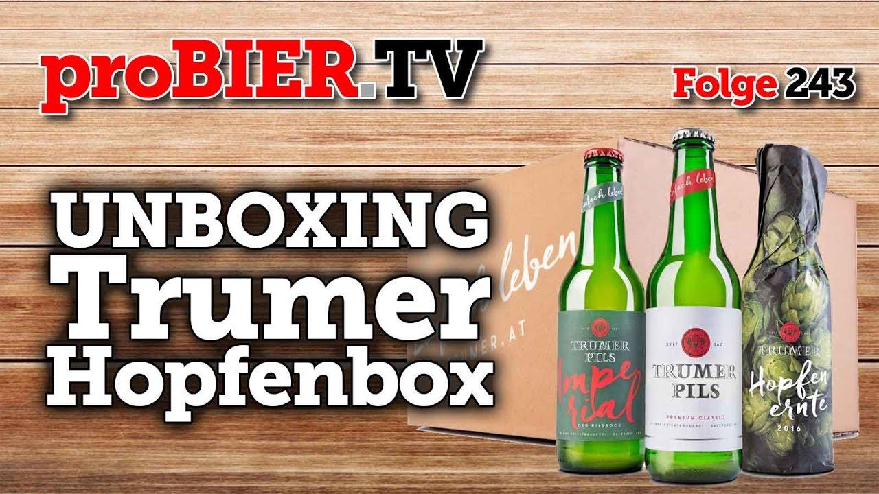 UNBOXING – Die erste Trumer Hopfenbox