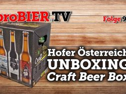 UNBOXING – Hofer Craft Beer Box | proBIER.TV – Craft Beer Review #928 [4K]