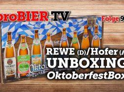 UNBOXING OktoberfestBox (Hofer/REWE)| proBIER.TV – Craft Beer Review #948 [4K]