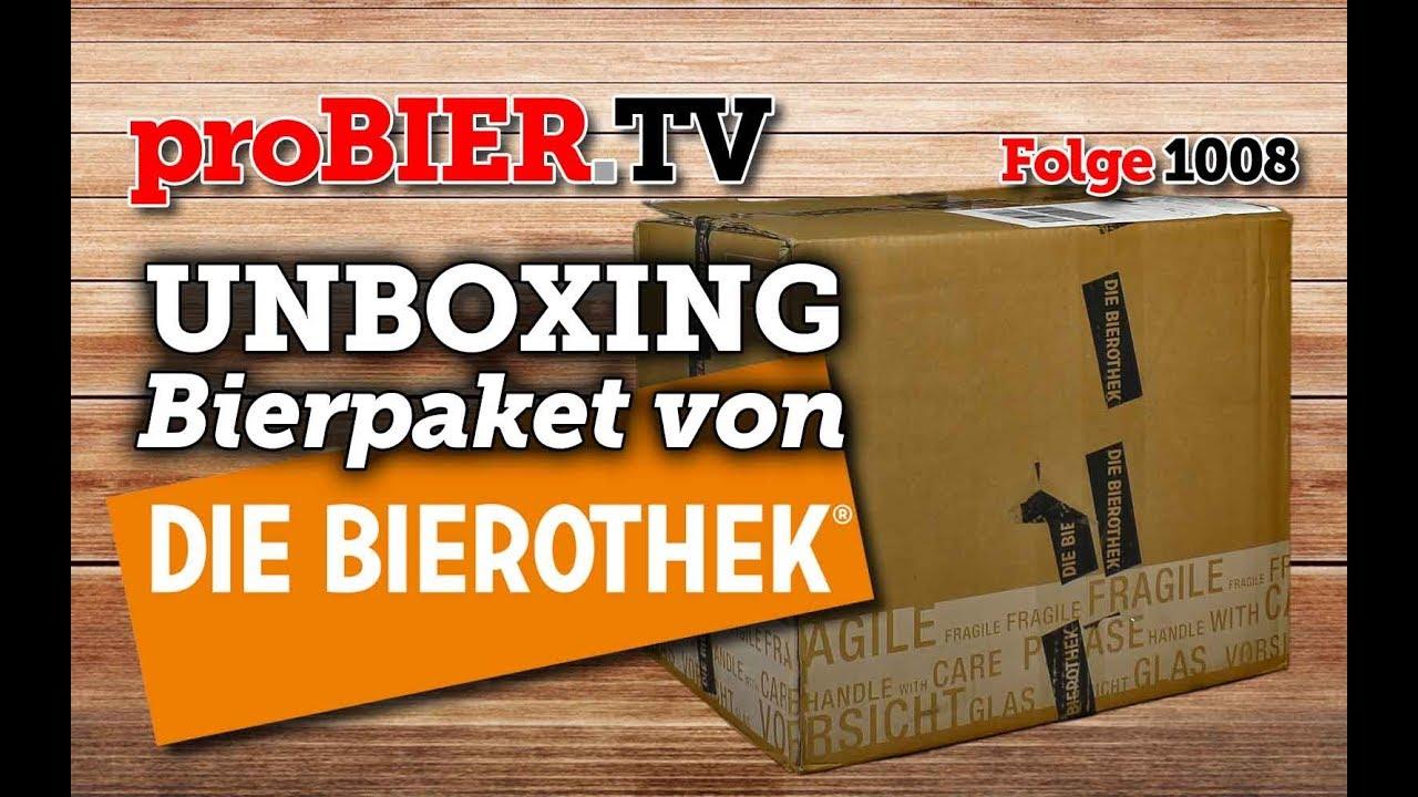 UNBOXING Paket von Der Bierothek | proBIER.TV – Craft Beer Video #1008 [4K]
