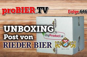 UNBOXING Post von Rieder Bier