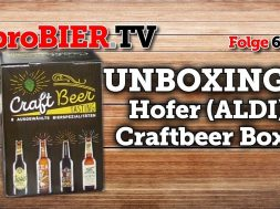 UNBOXING – Preview Hofer (ALDI) Craftbeer Box | proBIER.TV – Craft Beer Review #625