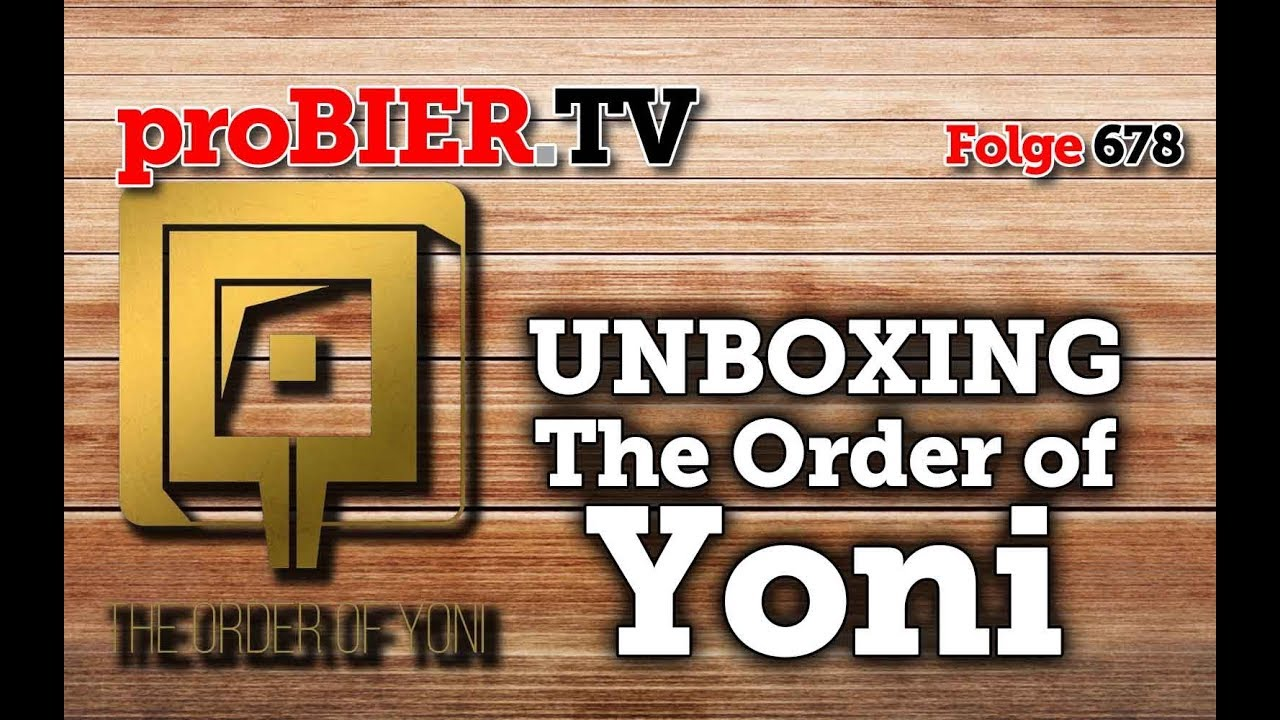 UNBOXING – The Order of Yoni – Vaginal Beer