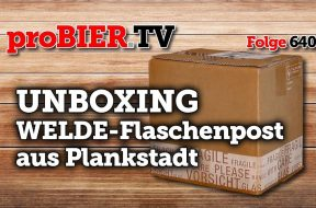 UNBOXING Welde-Flaschenpost