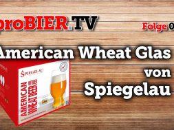 proBIER.TV – Spiegelau American Wheat Glas   #015   Craft Beer Review
