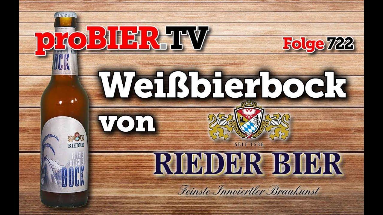 Weissbierbock von Rieder Bier | proBIER.TV – Craft Beer Review #722 [4K]