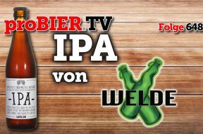 Welde Braumanufaktur mit Craft IPA