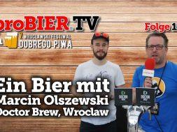 Who is Doctor Brew? Ein Bier mit Marcin Olszewski