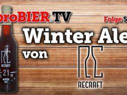 Winter Ale – der 21° Plato Schneeräumer von ReCraft