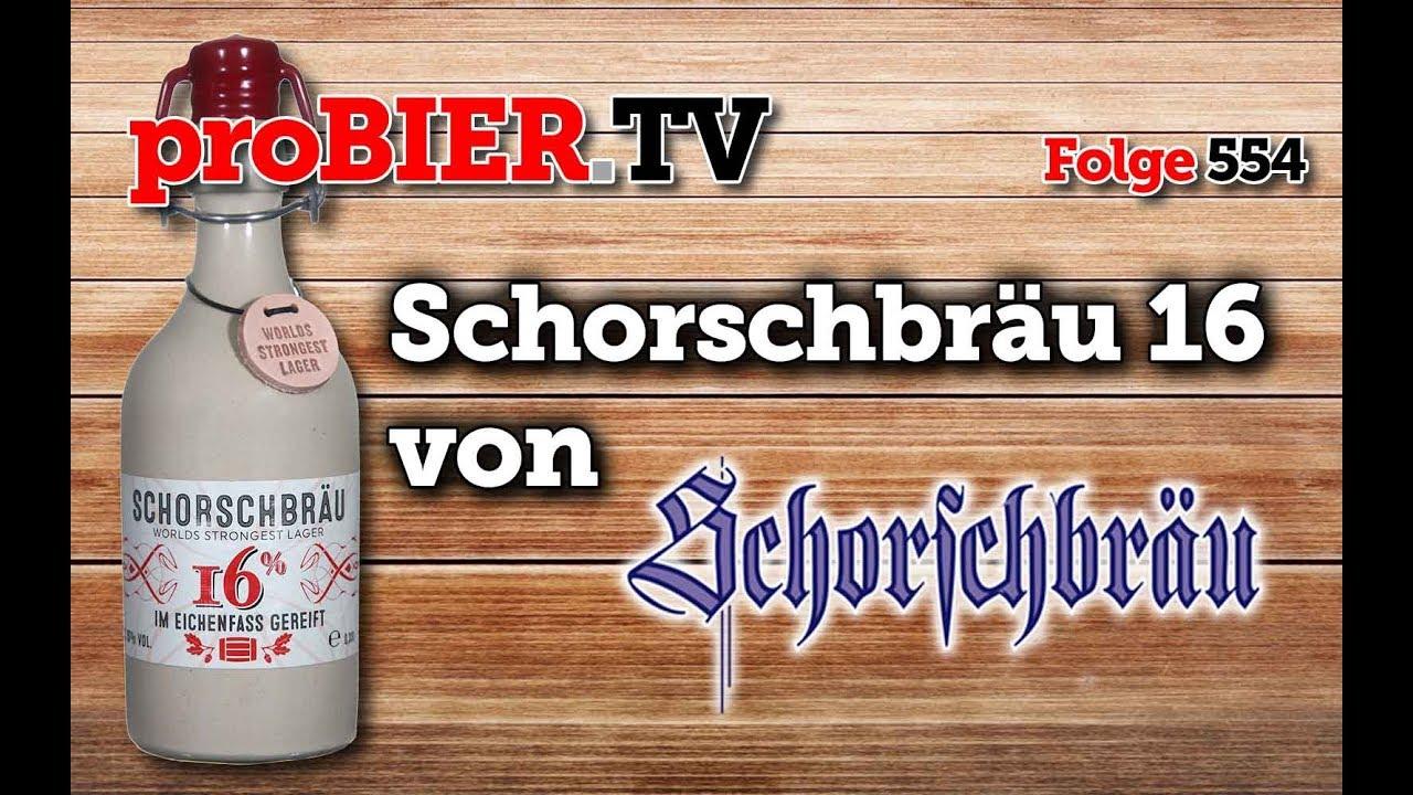 Worlds strongest Lager – Schorschbock 16% von Schorschbräu