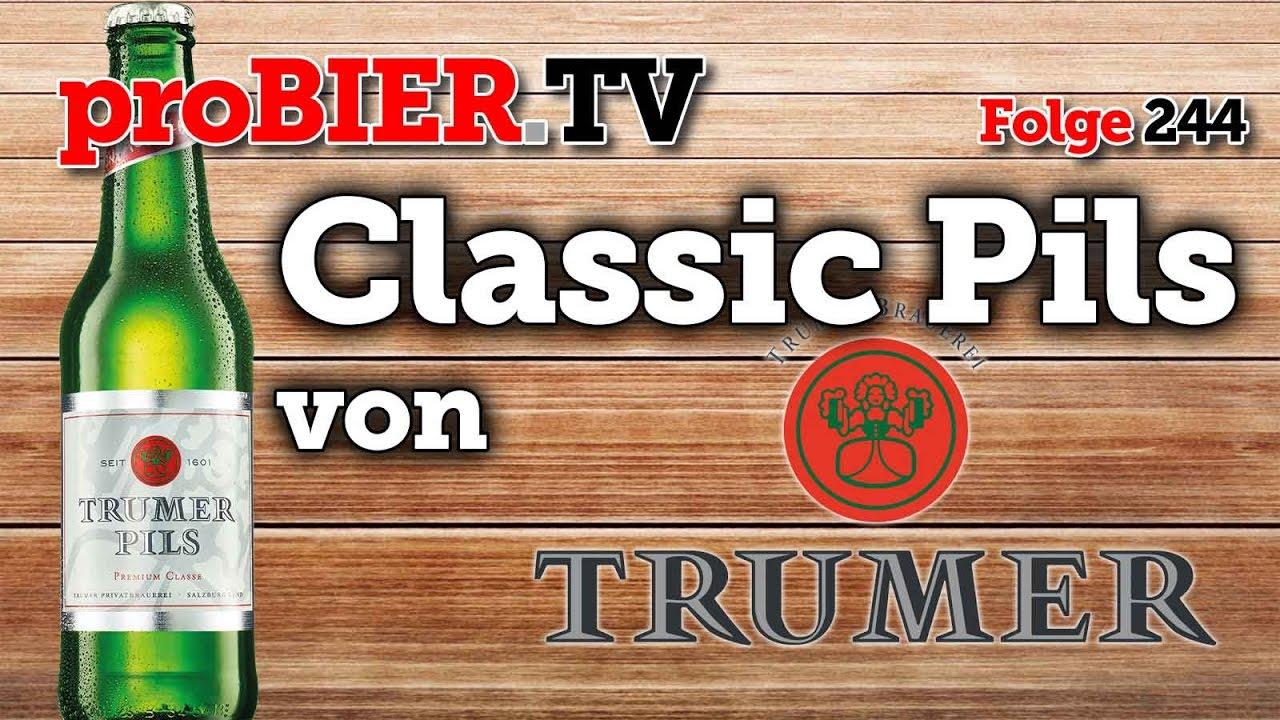 Zeit für Classic – Pils aus der Trumer Brauerei