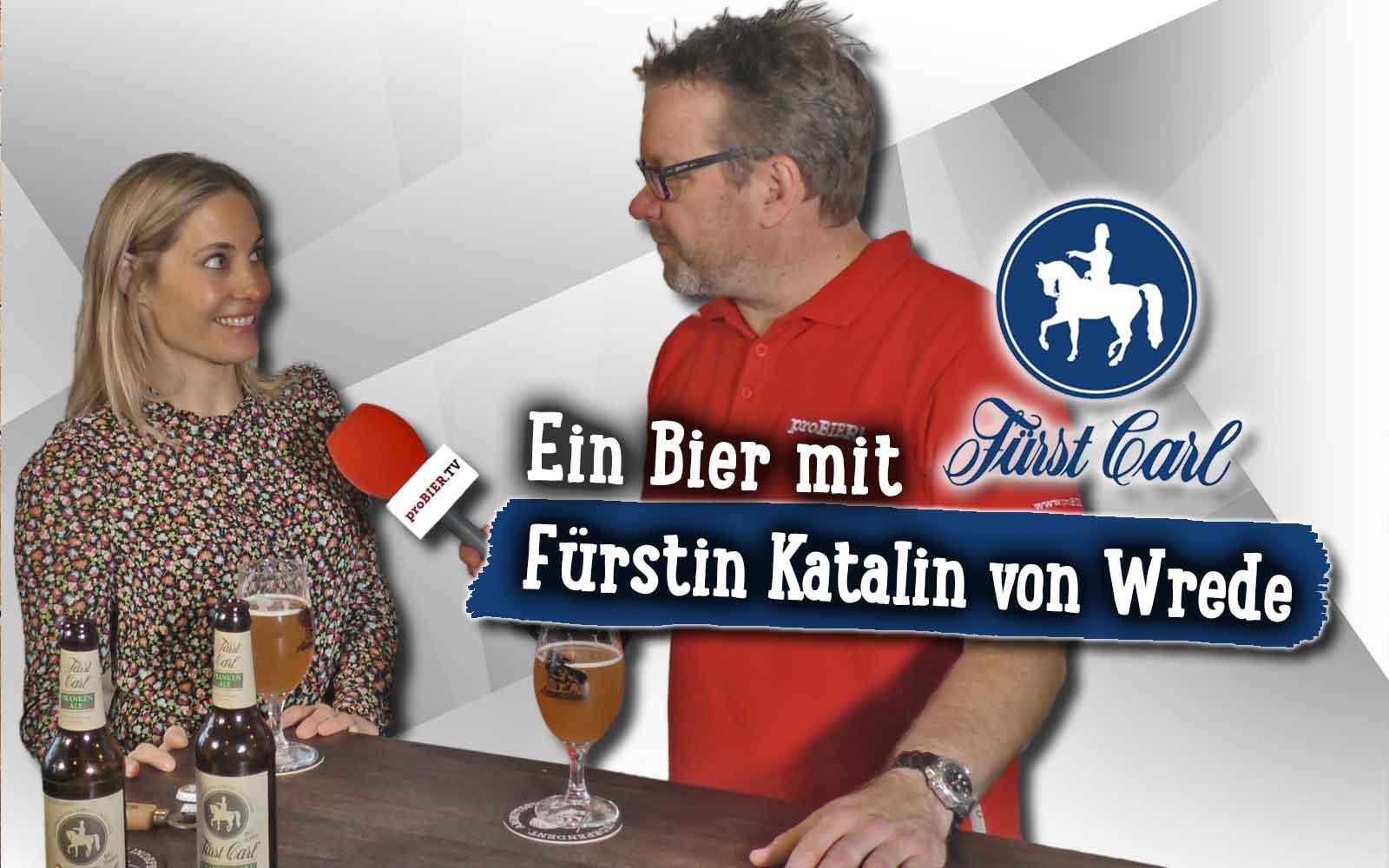 Fränkisches Ale aus dem Schloss Ettlingen