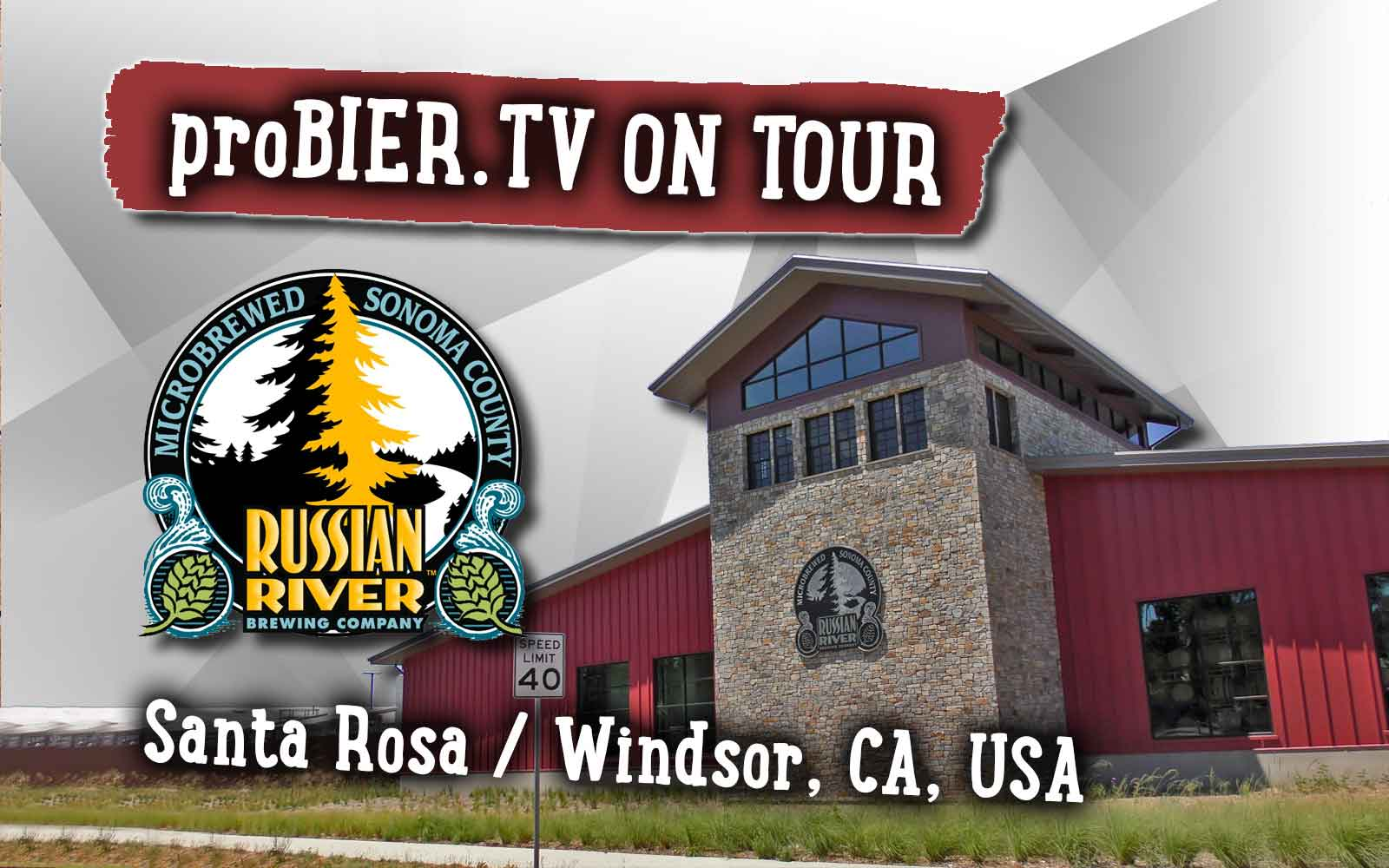 ON TOUR bei der Russian River Brewing Company