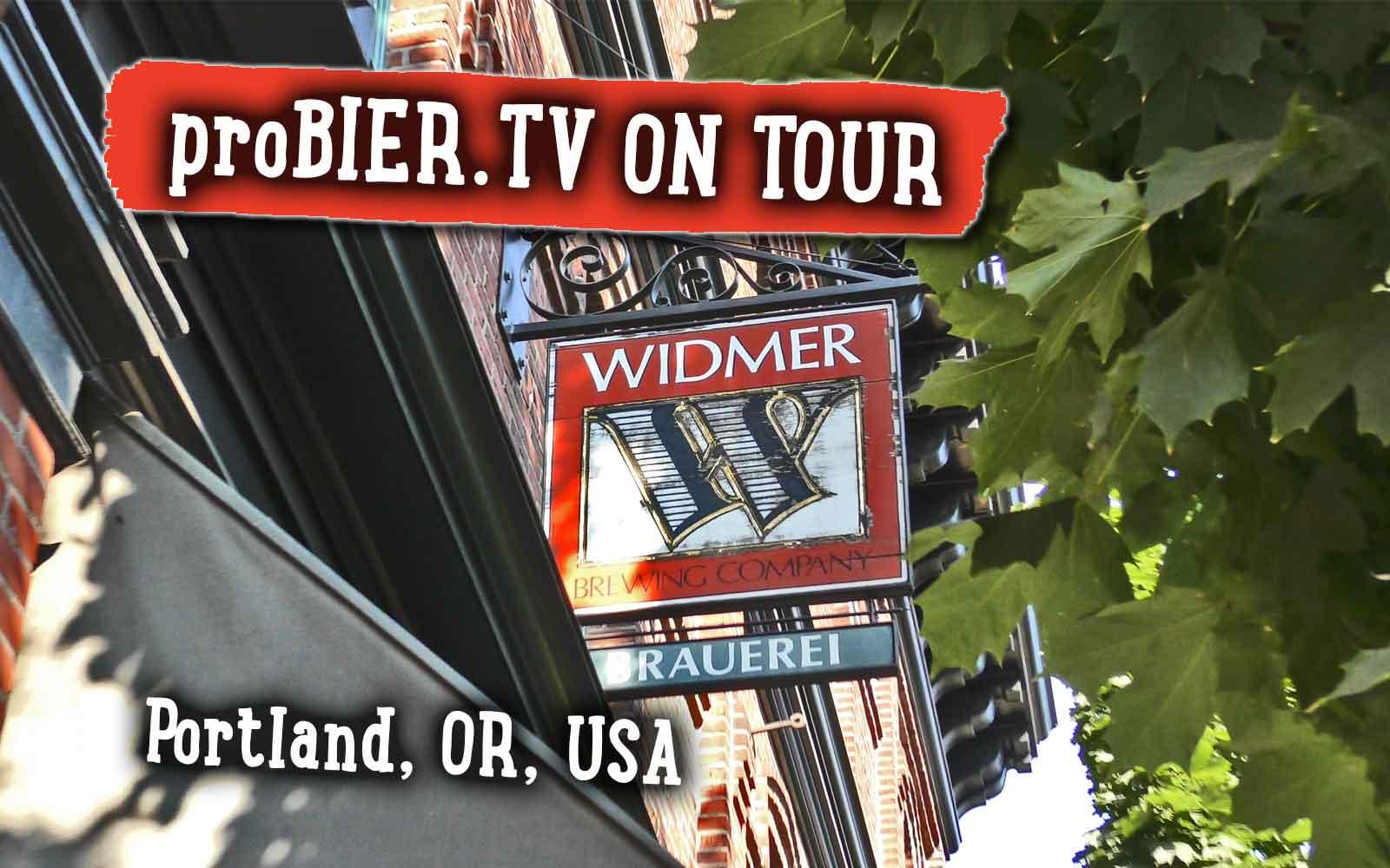 Brauerei Tour bei den Widmer Brothers, Portland