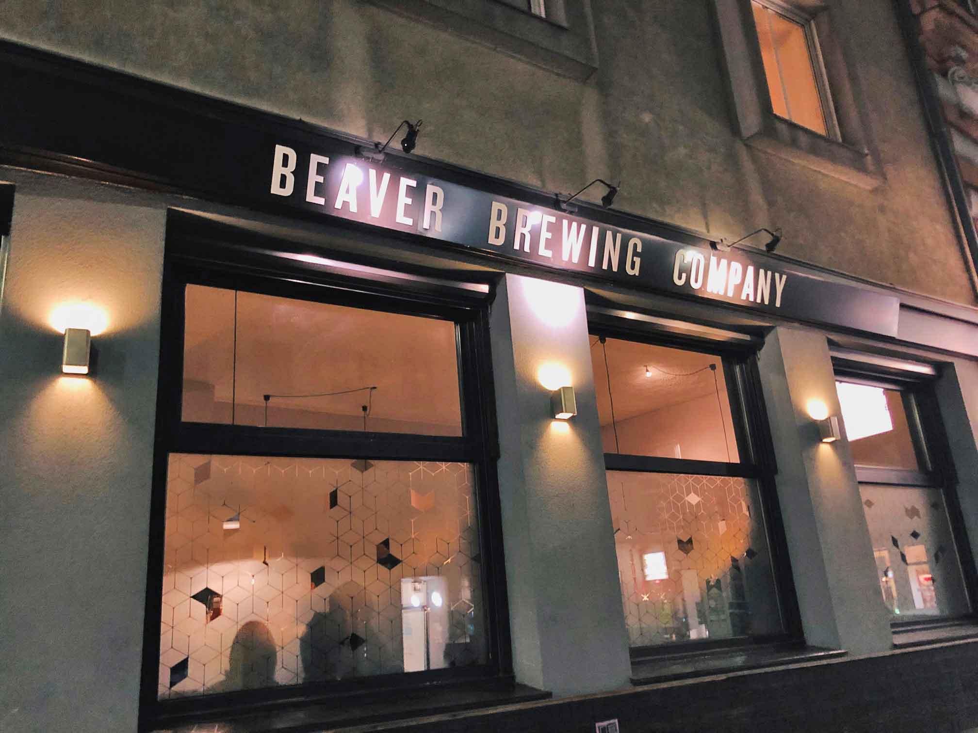 Beaver Brewing die Zweite im Fünften