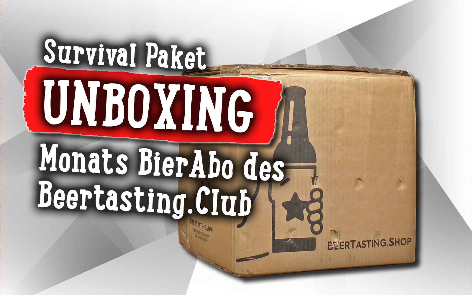 UNBOXING – Monatsbox April des Beertasting Club