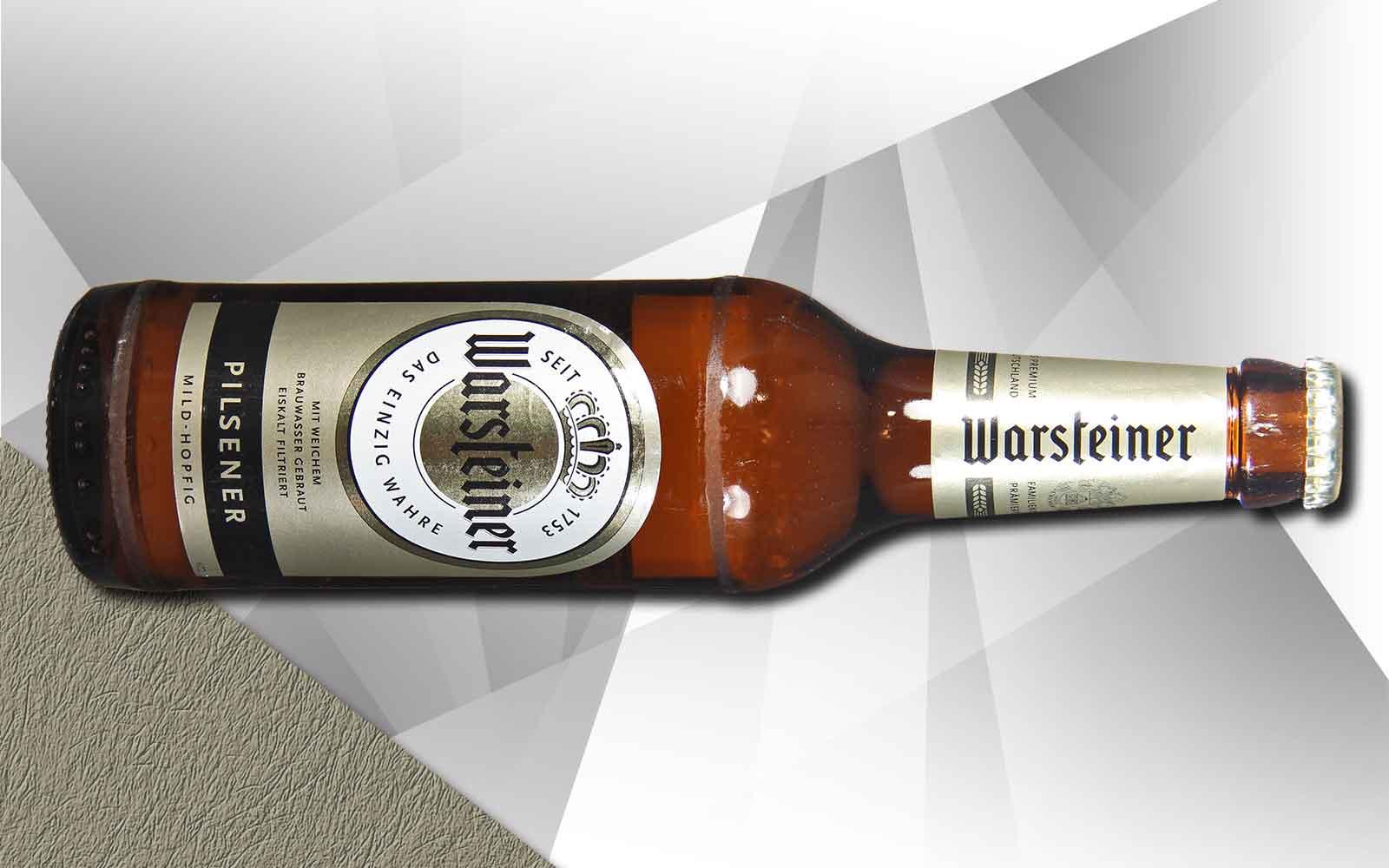 Warsteiner – Die Königin unter den Bieren?
