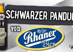 Schwarzer Pandur von Rhaner Bier | Craft Bier Verkostung #1485