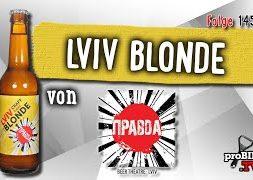 Lviv Blonde von Pravda Beer Theatre | Craft Bier Verkostung #1451