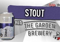 Stout von Garden Brewery | Craft Bier Verkostung #1442