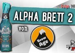 Alpha Brett #2 von BrewAge | Craft Bier Verkostung #1400